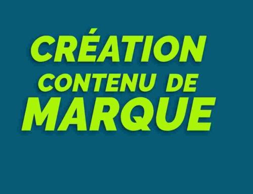 Création contenu de marque